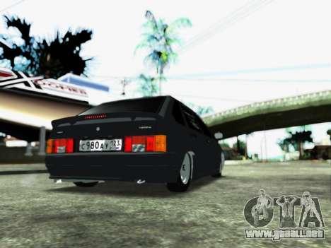 2114 para GTA San Andreas vista posterior izquierda