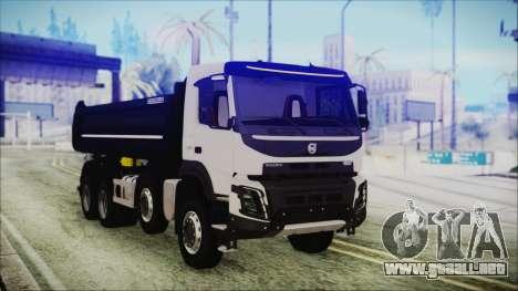 Volvo FMX Euro 6 para GTA San Andreas