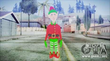 Christmas Elf v1 para GTA San Andreas segunda pantalla