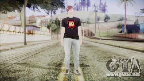GTA Online Skin 43 para GTA San Andreas segunda pantalla