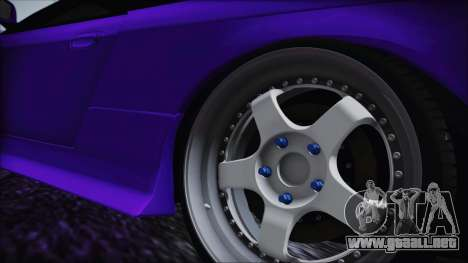 Nissan Silvia S14 Zenki BN Sports para GTA San Andreas vista posterior izquierda