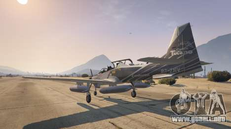 GTA 5 Embraer A-29B Super Tucano House cuarto captura de pantalla
