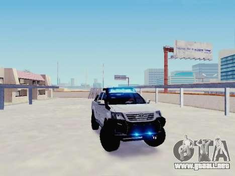 Toyota Hilux Rustica v2 2015 para la visión correcta GTA San Andreas