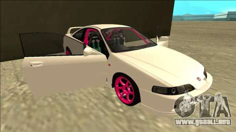 Honda Integra Drift para vista inferior GTA San Andreas