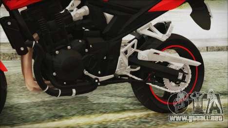 Suzuki Bandit 1250N para la visión correcta GTA San Andreas