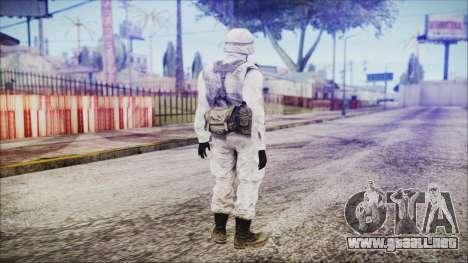 World In Conflict US Marine Winter para GTA San Andreas tercera pantalla