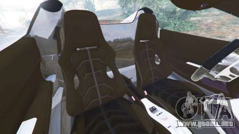 GTA 5 Ferrari 458 Italia Spider [LibertyWalk] vista lateral derecha