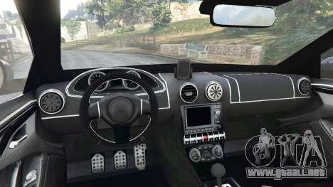 GTA 5 Skoda Octavia VRS 2014 [hatchback] vista lateral trasera derecha