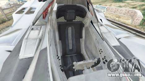 GTA 5 Batmobile Mk2 v0.9 vista lateral derecha