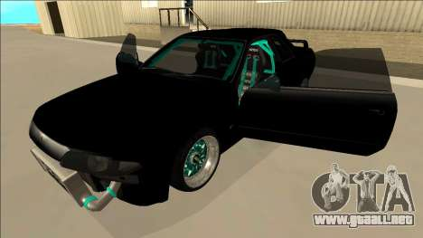 Nissan Skyline R32 Drift para vista lateral GTA San Andreas