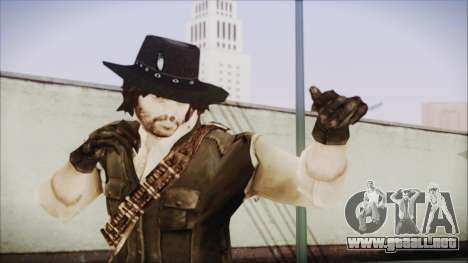 John Marston from Red Dead Redemtion para GTA San Andreas