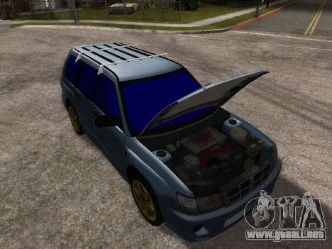 Subaru Forester 1998 para el motor de GTA San Andreas