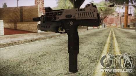 MP-970 para GTA San Andreas segunda pantalla