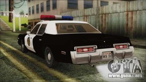 Dodge Monaco 1974 LVPD para GTA San Andreas left