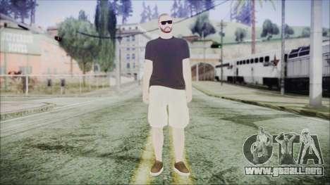 GTA Online Skin 4 para GTA San Andreas segunda pantalla