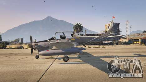 GTA 5 Embraer A-29B Super Tucano House tercera captura de pantalla
