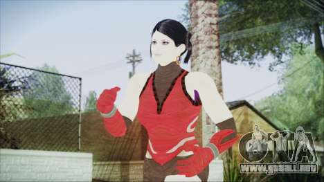 Tekken Tag Tournament 2 Zafina Dress v2 para GTA San Andreas