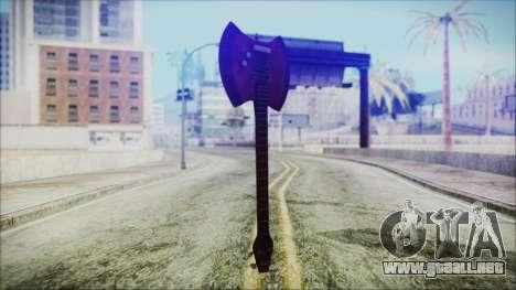 Ax Bass HD from Adventure Time para GTA San Andreas segunda pantalla