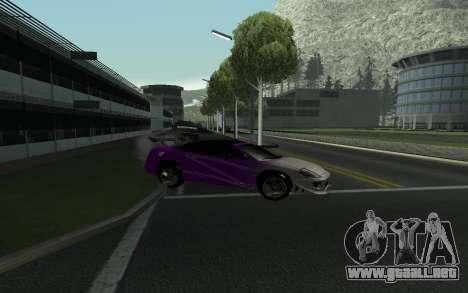 Mitsubishi Eclipse GTS Tunable para visión interna GTA San Andreas