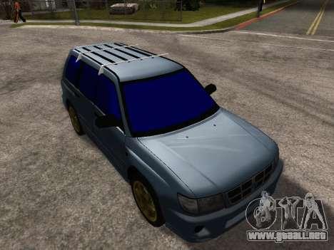 Subaru Forester 1998 para GTA San Andreas interior