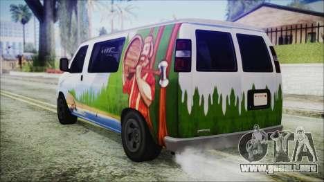 GTA 5 Bravado Paradise Lumberjack Artwork para GTA San Andreas left
