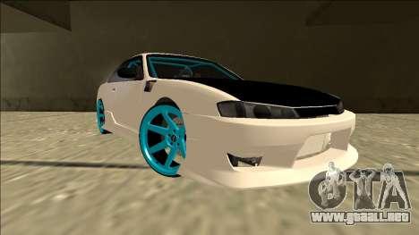 Nissan Silvia S14 Drift para vista lateral GTA San Andreas