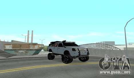 Chevrolet Luv D-MAX 2015 OFF-ROAD ALL-TERRAIN para GTA San Andreas