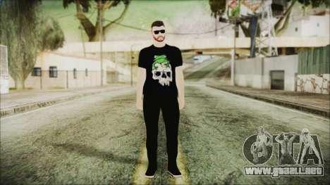 GTA Online Skin 24 para GTA San Andreas segunda pantalla