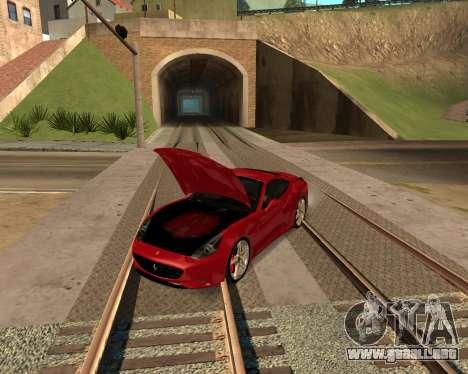 Car Accessories Script v1.1 para GTA San Andreas segunda pantalla