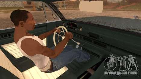 GTA 5 Declasse Clean Voodoo IVF para GTA San Andreas vista posterior izquierda