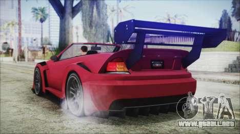 Benefactor Feltzer Super Sport para GTA San Andreas left