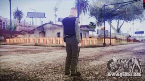 GTA 5 Ammu-Nation Seller 2 para GTA San Andreas tercera pantalla