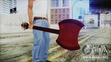 Ax Bass HD from Adventure Time para GTA San Andreas