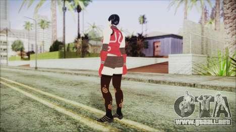 Tekken Tag Tournament 2 Zafina Dress v2 para GTA San Andreas tercera pantalla