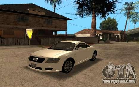 Audi TT 2004 Tunable para GTA San Andreas