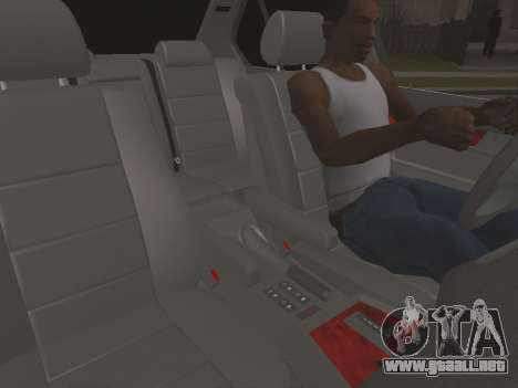 BMW 535i para visión interna GTA San Andreas