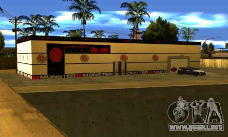 Monster Beats Studio by 7 Pack para GTA San Andreas segunda pantalla