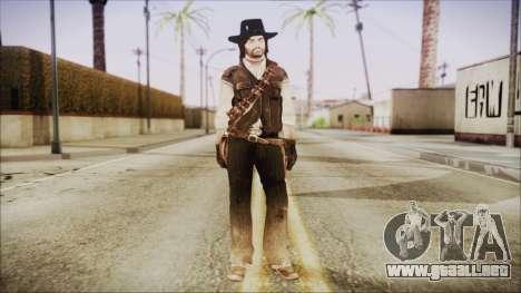 John Marston from Red Dead Redemtion para GTA San Andreas segunda pantalla