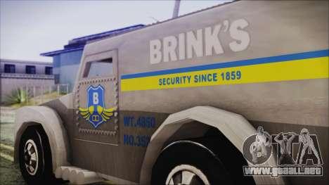 Hot Wheels Funny Money Truck para la visión correcta GTA San Andreas