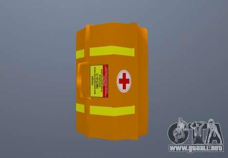 Kit De Primeros Auxilios para GTA San Andreas segunda pantalla