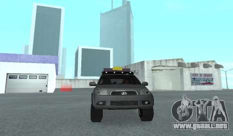 Toyota Terios 2009 OFF-ROAD MUD-TERRAIN para visión interna GTA San Andreas