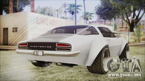 Imponte Nightshade para GTA San Andreas left