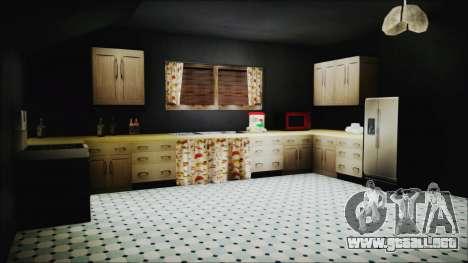 CJ House New Interior para GTA San Andreas séptima pantalla