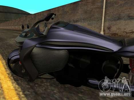 Krol Taurus concept HD ADOM v2.0 para visión interna GTA San Andreas