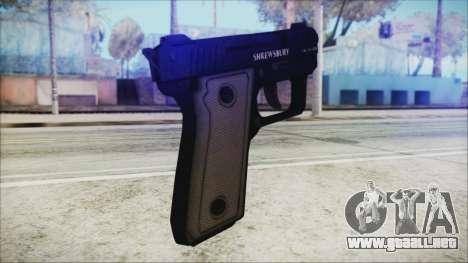 GTA 5 SNS Pistol v3 - Misterix Weapons para GTA San Andreas segunda pantalla