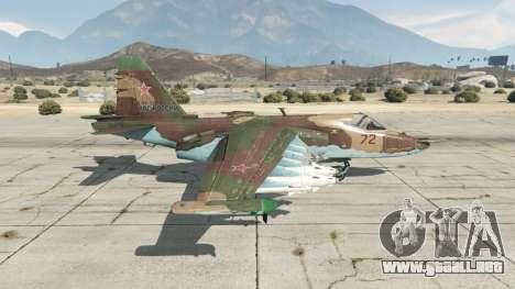 GTA 5 Su-25 v1.1 segunda captura de pantalla