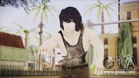 Rambo Shirt para GTA San Andreas