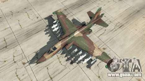GTA 5 Su-25 v1.1 cuarto captura de pantalla