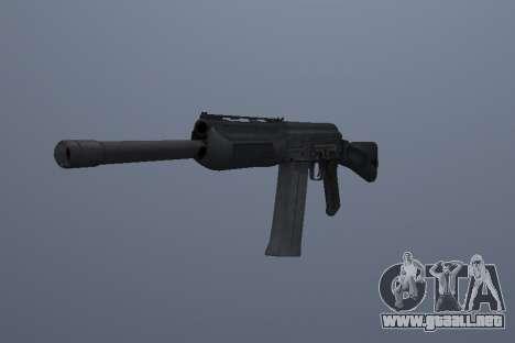 Saiga-12 para GTA San Andreas segunda pantalla