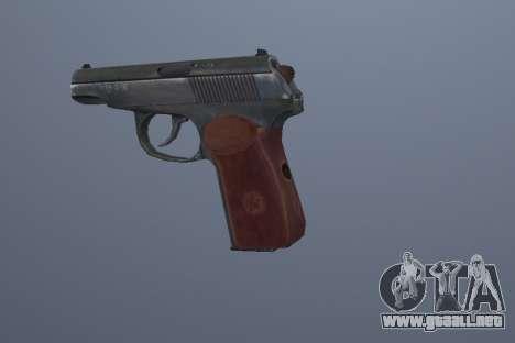 La Pistola Makarov para GTA San Andreas tercera pantalla